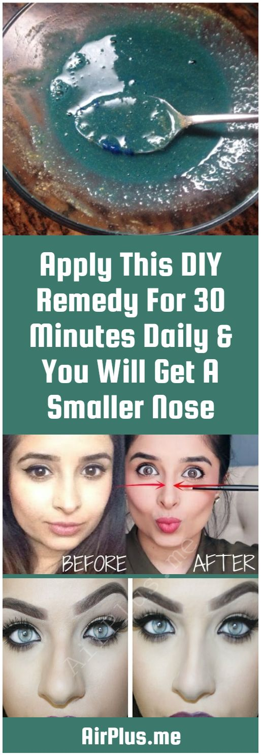 Apply This DIY Remedy For 30 Minutes Daily & You Will Get A Smaller Nose