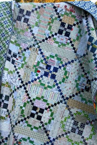 Tone It Down quilt, Burgoyne Surrounded, at Hopeful Homemaker