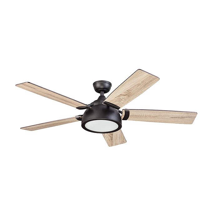 Harbor Breeze Ceiling Fan 5 Blades 52 120 V Bronze 21314 Rona In 2020 Bedroom Ceiling Fan Light Ceiling Fan Ceiling