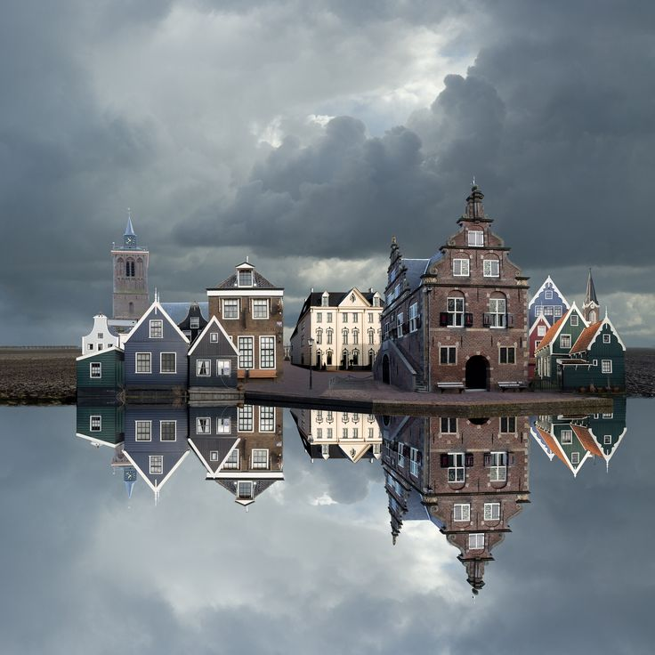 De Rijp The Netherlands by Jan Siebring