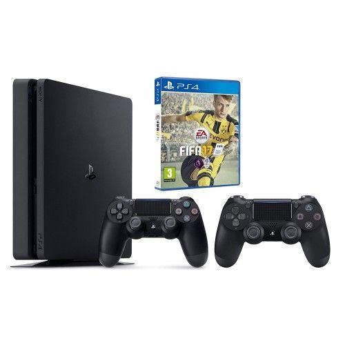 Playstation 4 + Fifa 17 + 2eme manette
