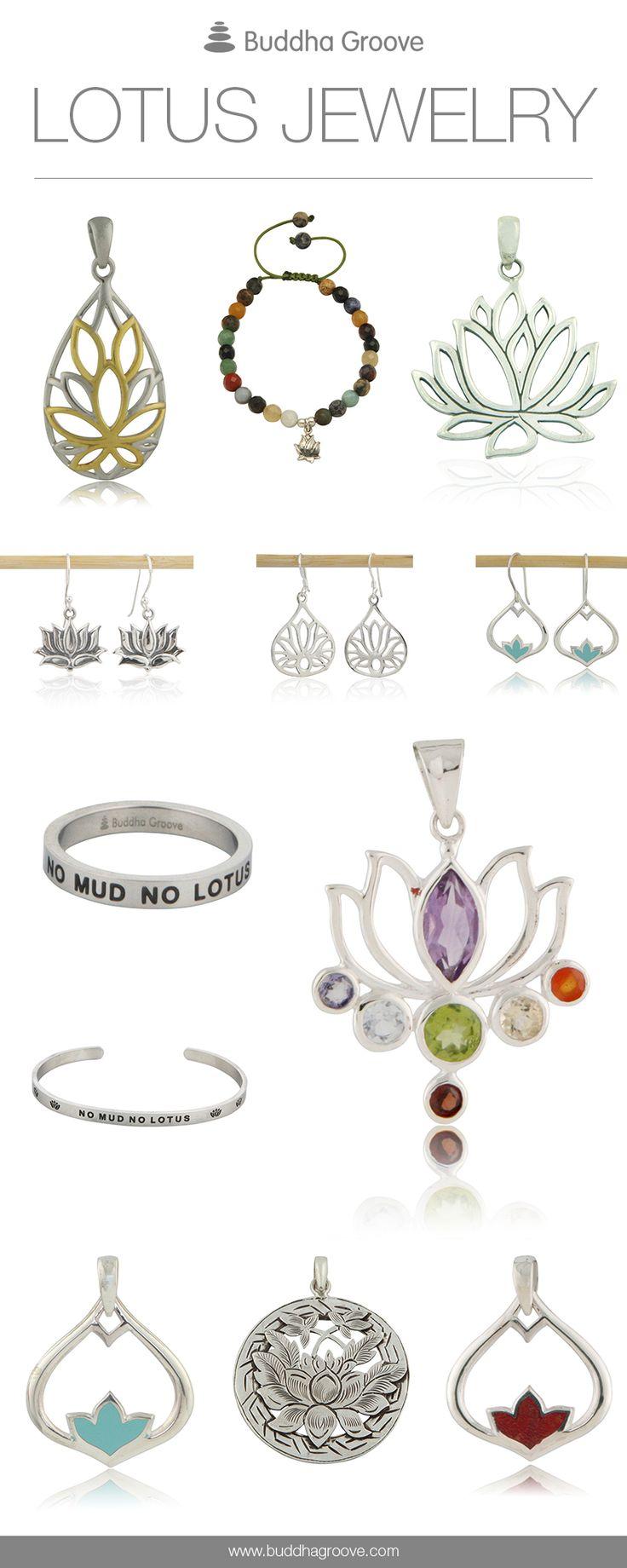 Artistic Lotus Jewelry Designs