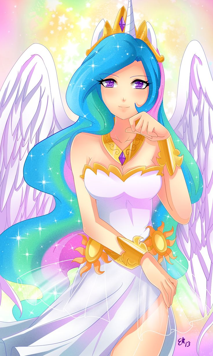 17 best ideas about princess celestia on pinterest mlp - Princesse poney ...