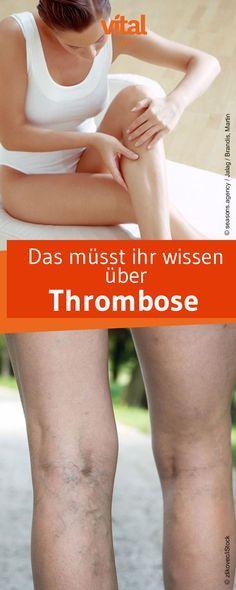 Die Gefahr von Thrombose wird in unserer Gesellschaft immer noch unterschätzt obwohl auch zunehmend auch junge Menschen daran erkranken. Wie es zur Erkrankung kommt und ihr eine mögliche Thrombose erkennt erfahrt ihr hier.