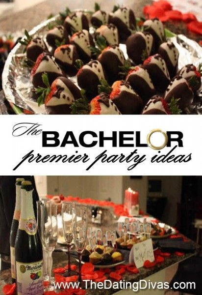 This is such a fun idea!  Totally hosting a premiere party for next season!  www.TheDatingDivas.com #thebachelor #thebachelorette