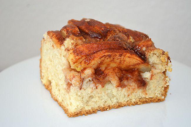 My Grandmother's Dutch Apple Cake {Vegan} #VeganAppleCake #VeganDutchAppleCake #TheVegLife