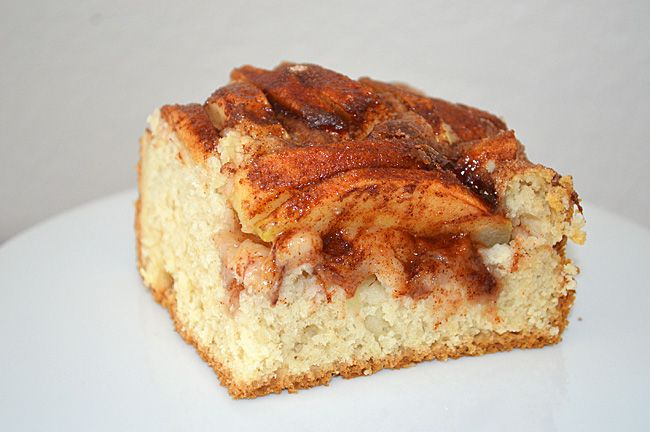 My Grandmother's Dutch Apple Cake {Vegan} #VeganAppleCake #VeganDutchAppleCake #TheVegLife