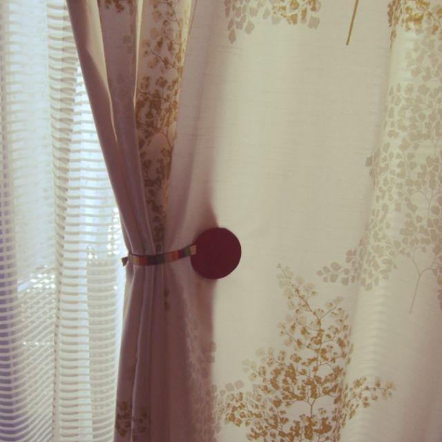 yuhayuさんの、スミノエカーテン,タッセル,川島織物セルコン,カーテンタッセル,オーダーカーテン,Bedroom,のお部屋写真