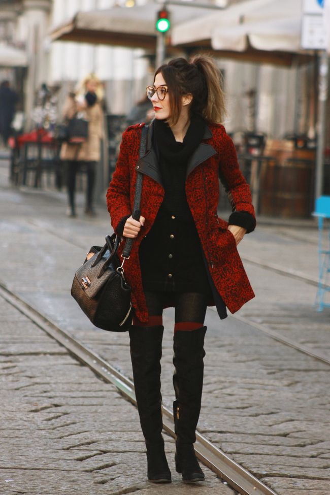 FashionCoolture - 25.01.2016 look du jour Milan winter outfit Dafiti long coat (3)