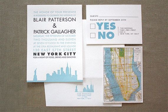 Set of 100 Letterpress Invitation Suite  by TieThatBindsWeddings, $895.00