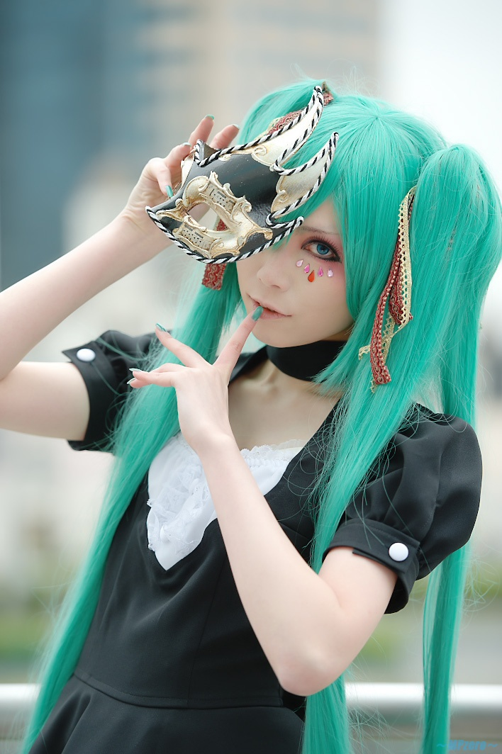Vocaloids #cosplay: Hatsune Miku, Cosplay Hatsune, Awesome Hair, Awesome Cosplay, Halloween Costumes, Miku Cosplay, Cosplay Costumes, Vocaloid Miku, Vocaloid Cosplay