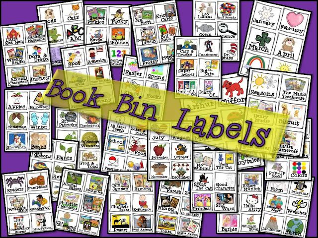 Library Labels: Libraries Labels, Home Libraries, Books Labels, Teaching Tidbit, Books Bins Labels, Classroom Libraries, Classroom Sets, Libraries Books, Libraries Organizations
