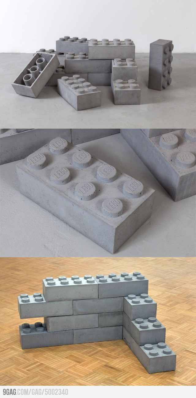 Concrete Legos: building a house just became the most excellent fun