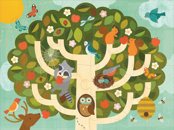 Petit Collage Treetop Friends puzzle features vibrant and engaging artwork. Once kids have mastered the beginner puzzles, they may be ready to grow with these bigger concept, 24-piece large format puzzles. $32.95 AUD Including delivery!