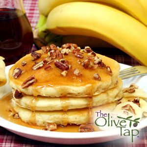 Walnut Banana Pancakes |
