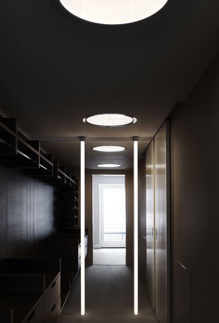 Lighting by Orbium in Walk-in-closet at Ture8 in Stockholm. #lighting #led #design #ture8 #tureno8 #orbium