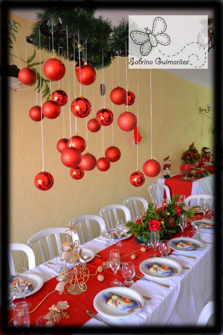 decoraç u00e3o e scrap Decor de Ceia de Natal Home ideas Pinterest Mantels, Natal and Scrap # Decoração Ceia De Natal Simples