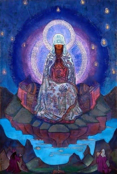 Mother of the World, by Nicholas Roerich