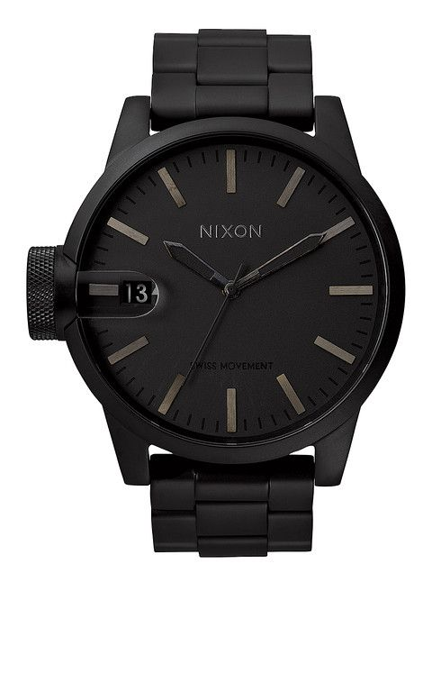 The Chronicle SS - All Matte Black | Nixon