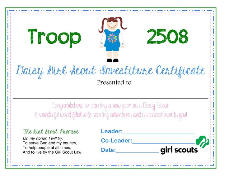 39 best Daisy certificates images on Pinterest | Daisy ...