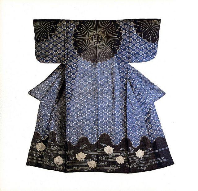 裾んところのウサちゃんかわいい。 Kazuki - Outer kimono - Mid-Edo Period