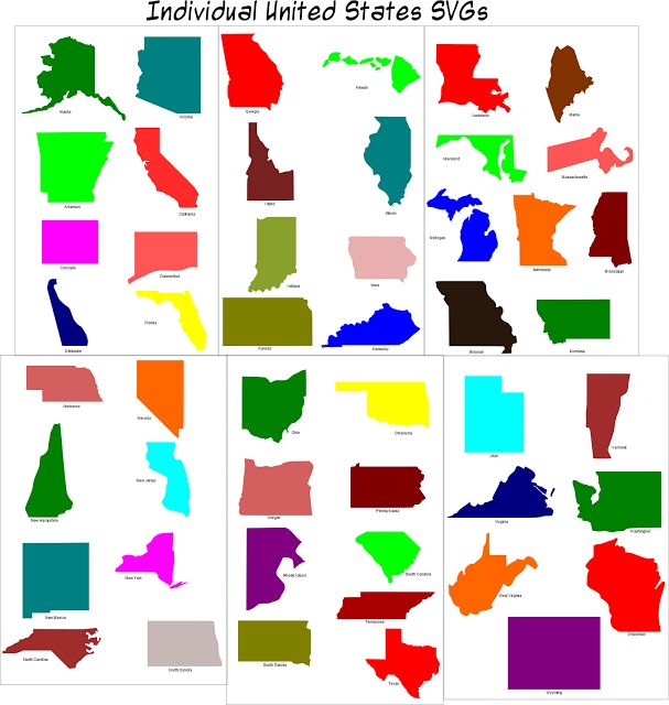 118 Best Geography Images On Pinterest History Books And: Maps Of Individual States At Codeve.org