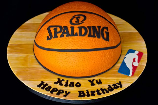 Basketball Cake | Made for the husband of a lady at my Dad's… | Flickr