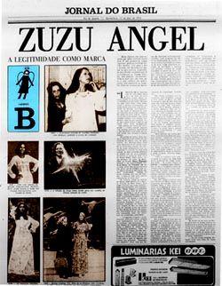 Zuzu Angel - a legitimidade como marca