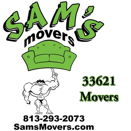 813-293-2073 Call Sam's Movers 33621 Mover Services in South Tampa Today. Great Flat $99/hr Rates. Licensed and Insured to Arrive on Base.  http://samsmovers.com/movers-33621/  #Movers33621 #Mover33621 #MovingCompany33621 #33621Movers #33621Mover #33621MovingCompany  Sam's Movers 813-293-2073 16133 North Dale Mabry Highway Tampa, FL 33618 Sam@SamsMovers.com