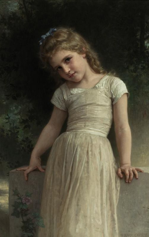 The Mischievous One by William-Adolphe Bouguereau
