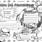 """This is a GREAT """"Back to School Activity"""".... Leave this poster on the students' desks as a first day back from summer vacation activity. Students ..."""