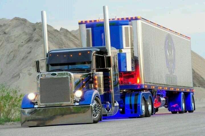 Peterbilt Show Trucks Big Rig Semi Trucks Trucks