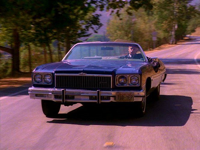 Twin Peaks CHEVROLET 1975 CAPRICE CLASSIC #Cars #LelandPalmer #TwinPeaks #DavidLynch #ProductPlacement