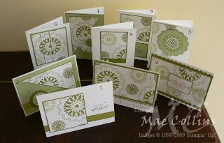 A4 One Sheet Wonder - includes template to make 9 cards using one sheet of pattern paper