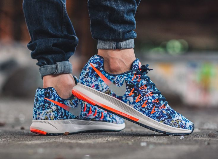 taquets nike rouge - Nike Air Zoom Pegasus 33 RF E 'Jungle' Midnight Navy | Sneakers ...