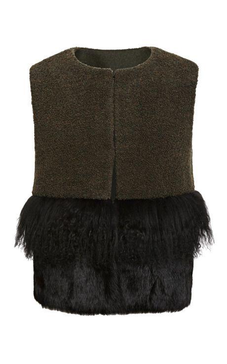 Rosanne Vest by Tory Burch for Preorder on Moda Operandi
