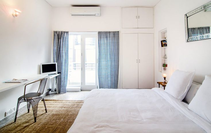 Clean, light-filled and spotless, there are just 4 rooms at Scarlette so booking early is essential.