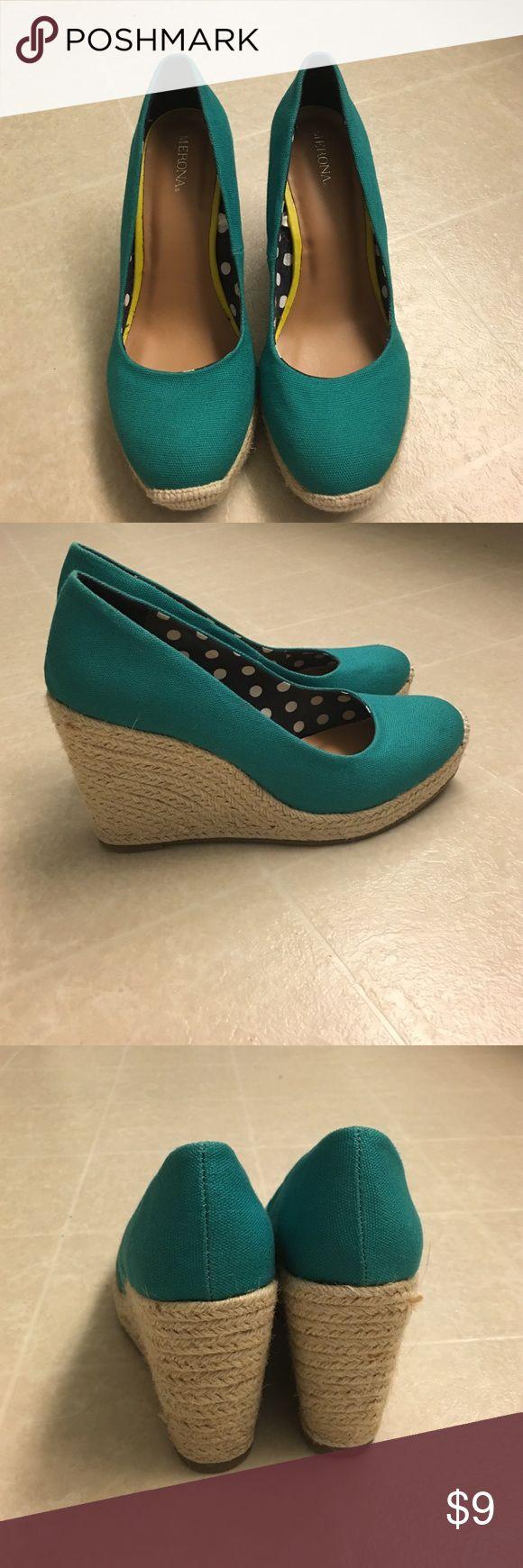 Espadrilles shoes Worn 1 time espadrilles Merona Shoes Espadrilles