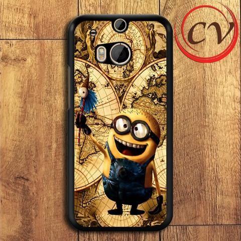 Minion HTC One M8 Black Case