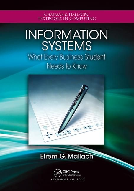 7 best information technology images on pinterest book books and information systems what every business student needs to know crc press book fandeluxe Image collections