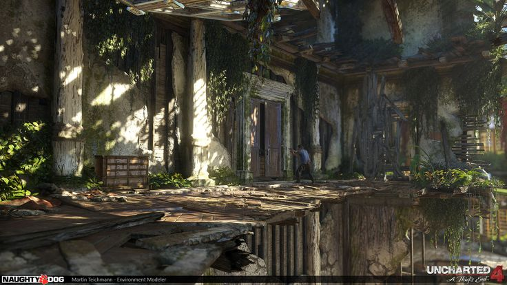 ArtStation - Uncharted 4 - Chase, Martin Teichmann