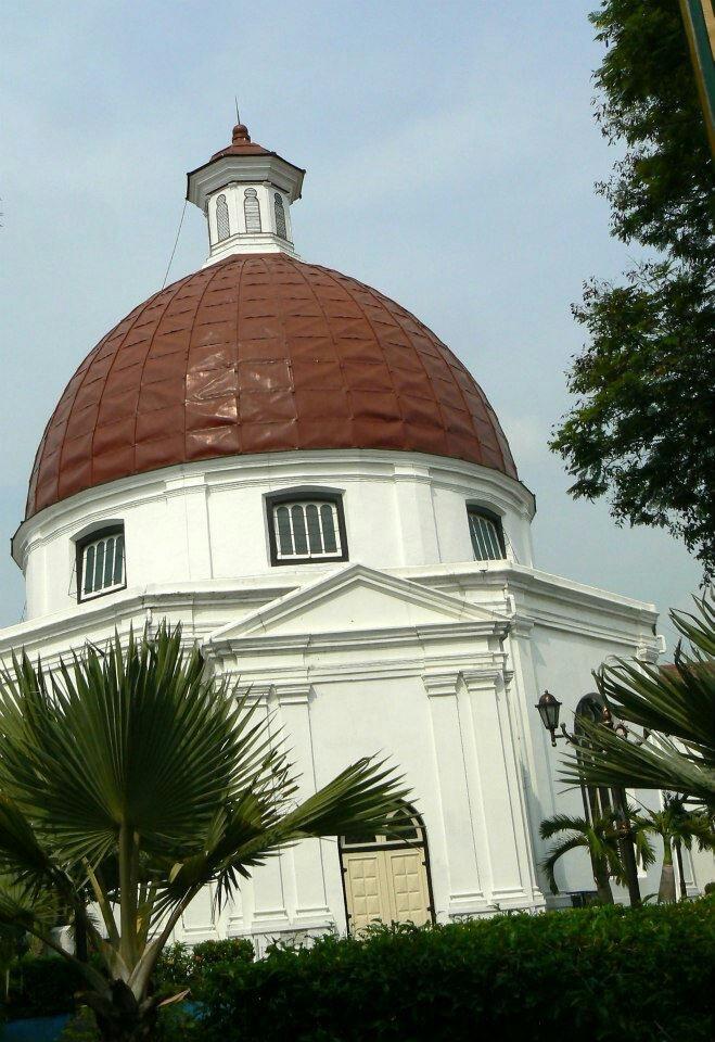 Blenduk Church. Semarang, Central Java. By me.