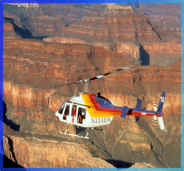 Helicopter ride over Grand Canyon!
