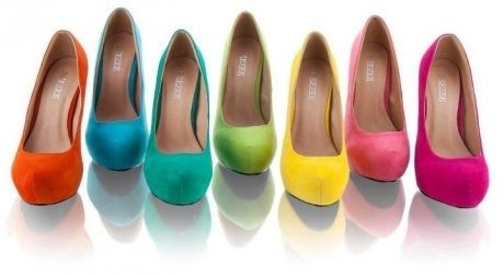 I'll have one in each color, please!: Green Heels, Gorgeous Heels, Pink Heels, Black Bridesmaid Dresses, High Heels, Fashion Sexy, Heelsfan Com, Shoes Heels, Color Heels