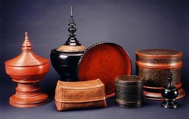 Antique Burmese Lacquer ~Repinned Via Janice Stadelmann-Elder