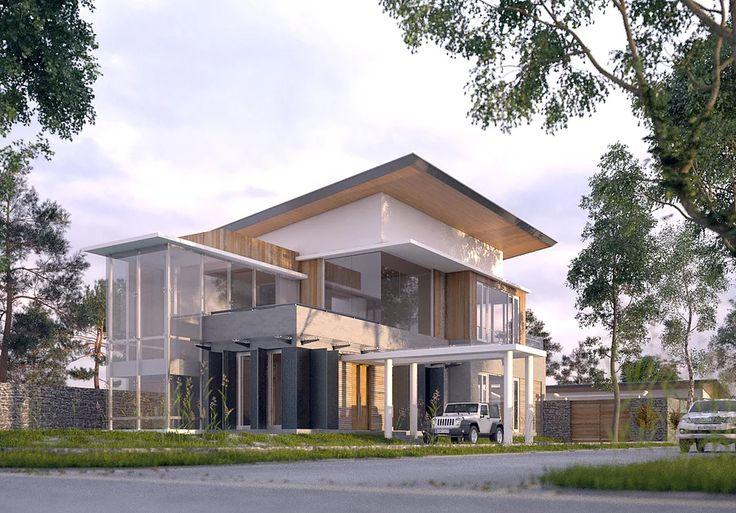 Desain arsitektur rumah tinggal pribadi, Rumah mewah dan real estate