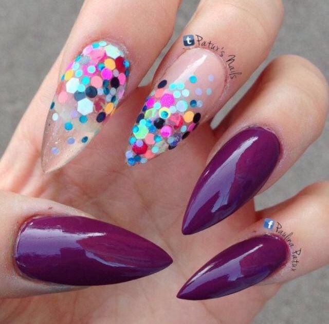 Stilleto Nail Ideas For Prom: 17 Best Ideas About Stiletto Nails On Pinterest