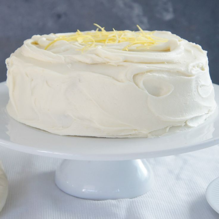 Here are 20 recipes that are ALL vegan like this incredible Lemon Coconut Cake with Coconut Frosting by rchelle.