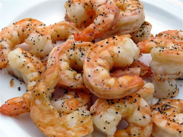 Salt and Pepper Roasted Shrimp