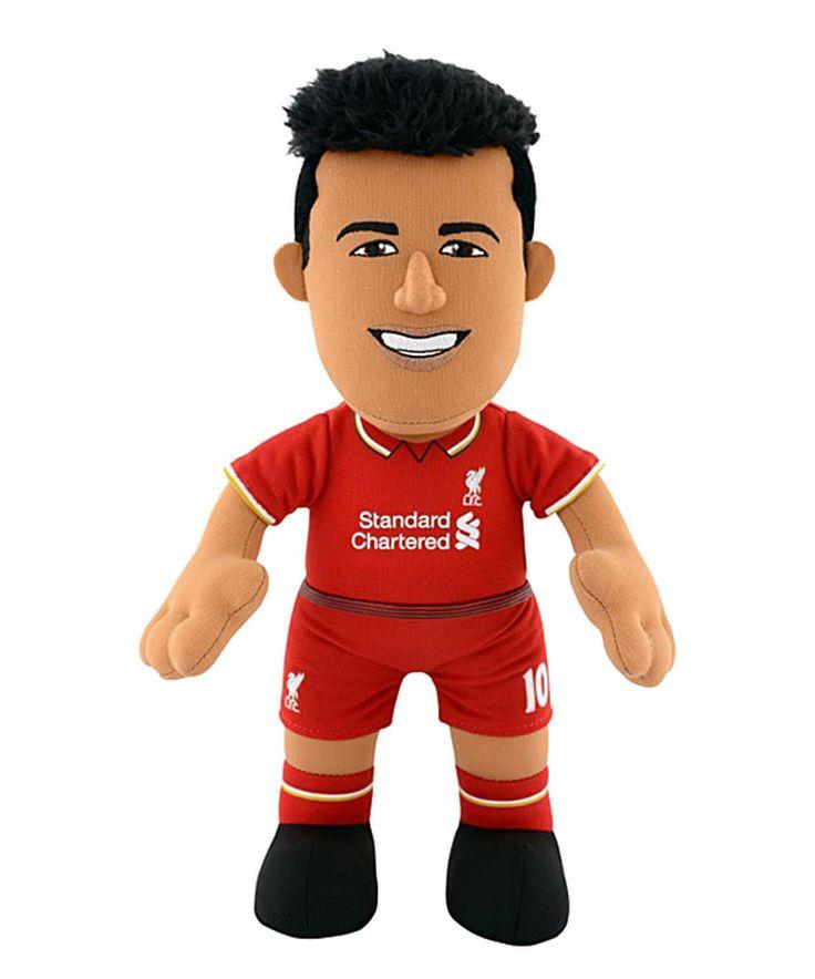 Liverpool Phillippe Coutinho Plush Toy by Bleacher Creatures #zulily #zulilyfinds